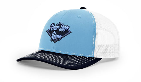 3D Patch Richardson 112 Trucker Mesh Back