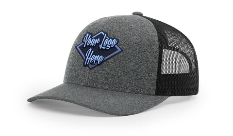 Patch Richardson 115CH Low Pro Heather Trucker Mesh Back