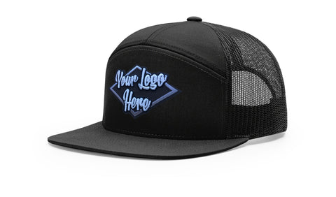 3D Patch Richardson 168 7-Panel Trucker