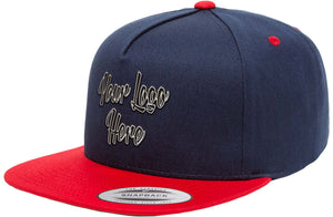 3D Direct Patch Yupoong Classic 5 Panel Two Tone Cap