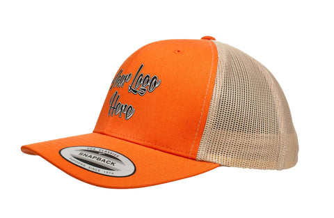 3D Direct Patch Yupoong Classic Retro Trucker Two Tone