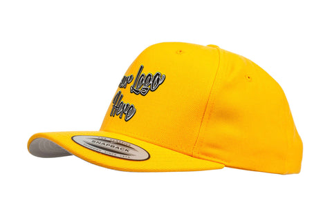 3D Direct Patch Yupoong Classic Snapback