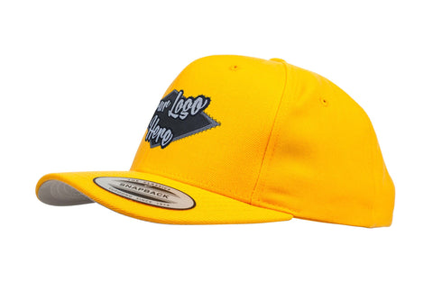 Woven Patch Yupoong Classic Snapback