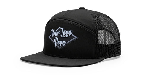 3D Patch Richardson 958 7-Panel Trucker