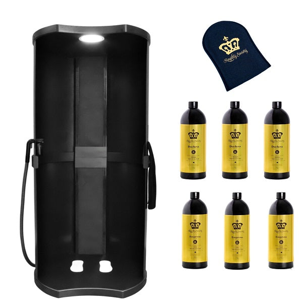 Royalty Society TAN FRESH Air booth + 6 X FREE PRO 1L Solutions, Mitt & T-Shirt - Royalty Society  - Tan, Spray Tan, Sunless Tan Royalty Society - Melbourne, Australia Royalty Society - Royalty Tanning
