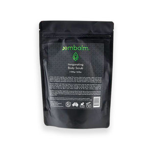 Embalm Skincare - Invigorating Body Scrub - Royalty Society body, hand, scrub, sugar scrub - Tan, Spray Tan, Sunless Tan Embalm Skincare - Melbourne, Australia Royalty Society - Royalty Tanning