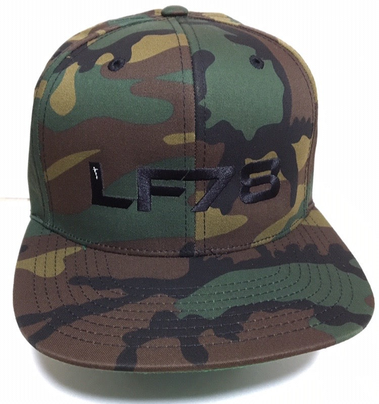 LF78 Camo US Military Snapback Hat (Semper Fi Fund)