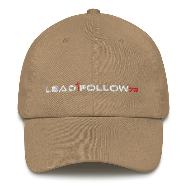 LEAD/FOLLOW Dad hat