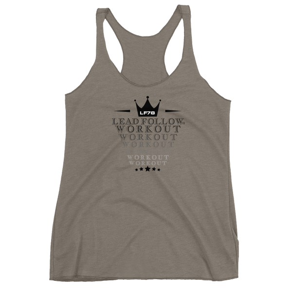 Workout Women's Racerback Tank