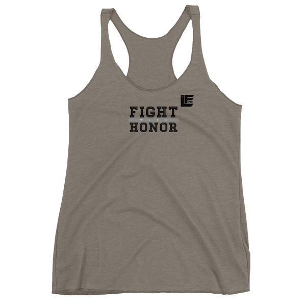 Fight With Honor Women's Racerback Tank