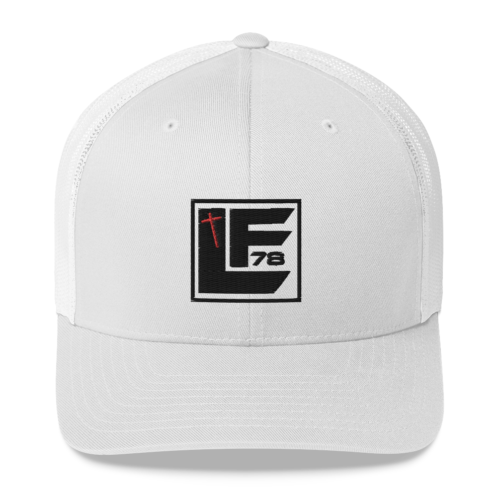LF78 Square Trucker Cap