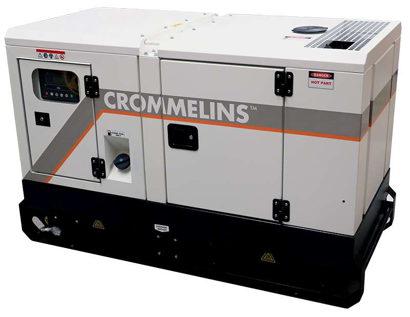 Crommelins Standby Generator Three Phase 19.0kVA
