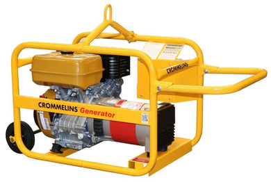 Crommelins Generator Petrol Hirepack Electric Start 5.0kw