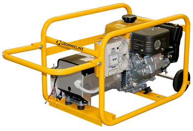 Crommelins Generator Petrol Hirepack Electric Start 6.8kw