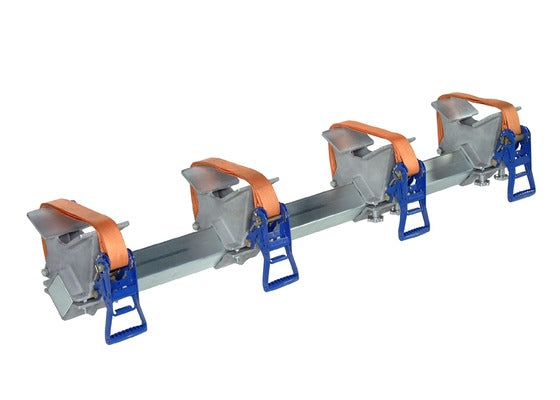 Georg Fischer quadruple pipe clamp (63-125mm, 110-225mm, 225-500mm)