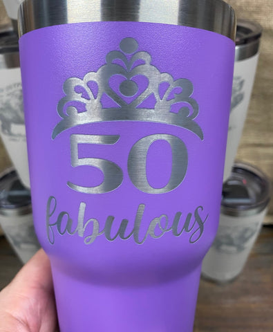 30OZ Custom Engraved Tumbler