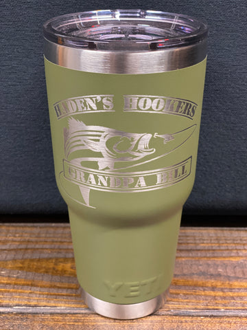 Tumbler 30OZ Custom Engraved