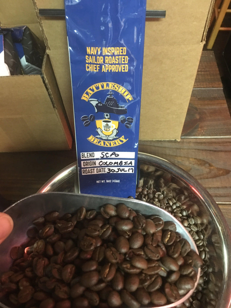 Micro-Roast Coffee Beans - Colombia Supremo