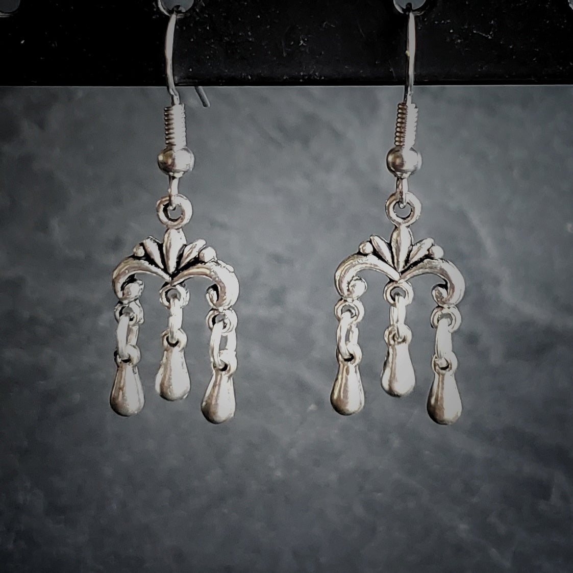 Tiny Chandelier Earrings Festival Jewelry