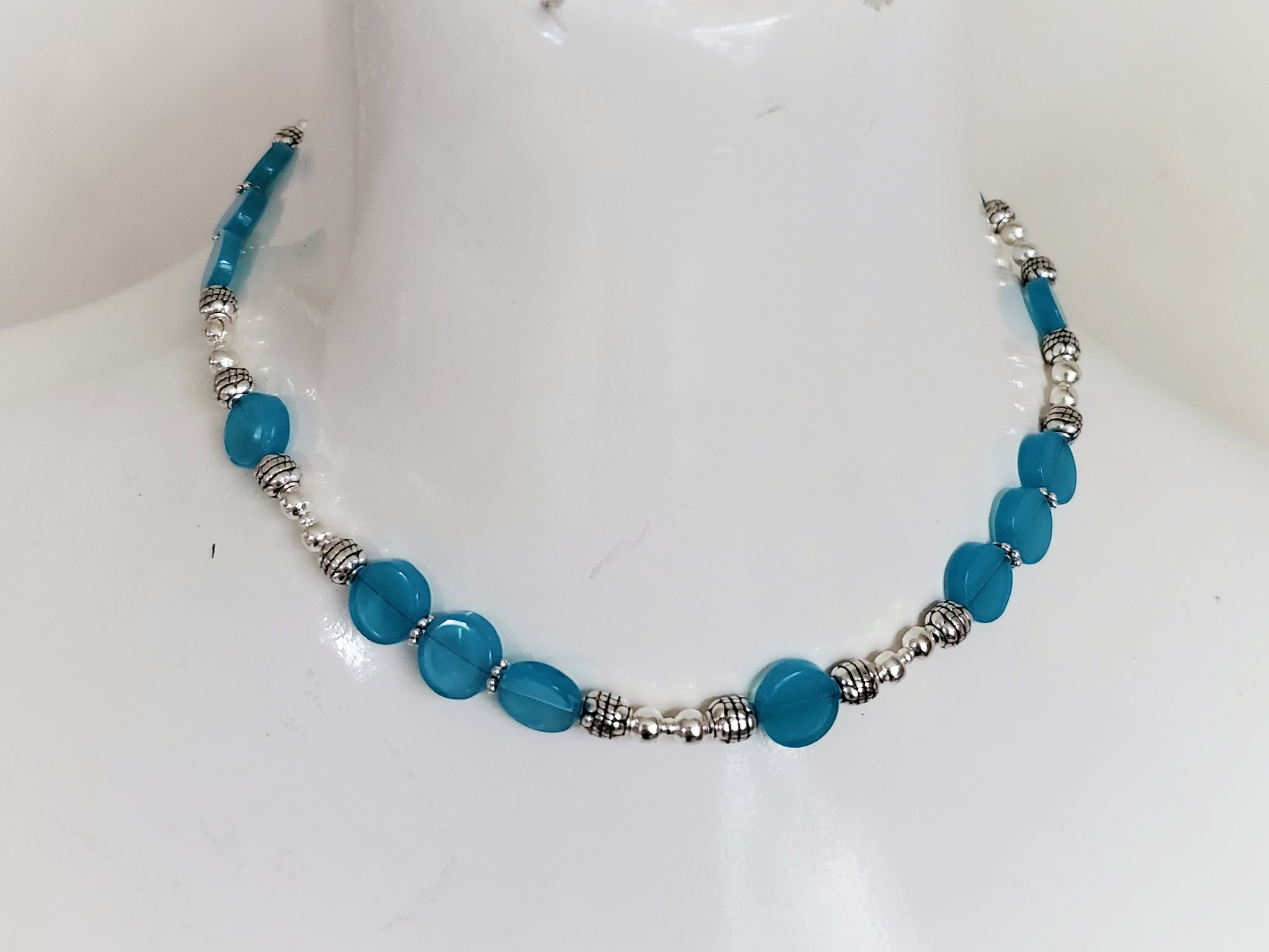 Ocean Blue Handmade Jewelry Gift Set
