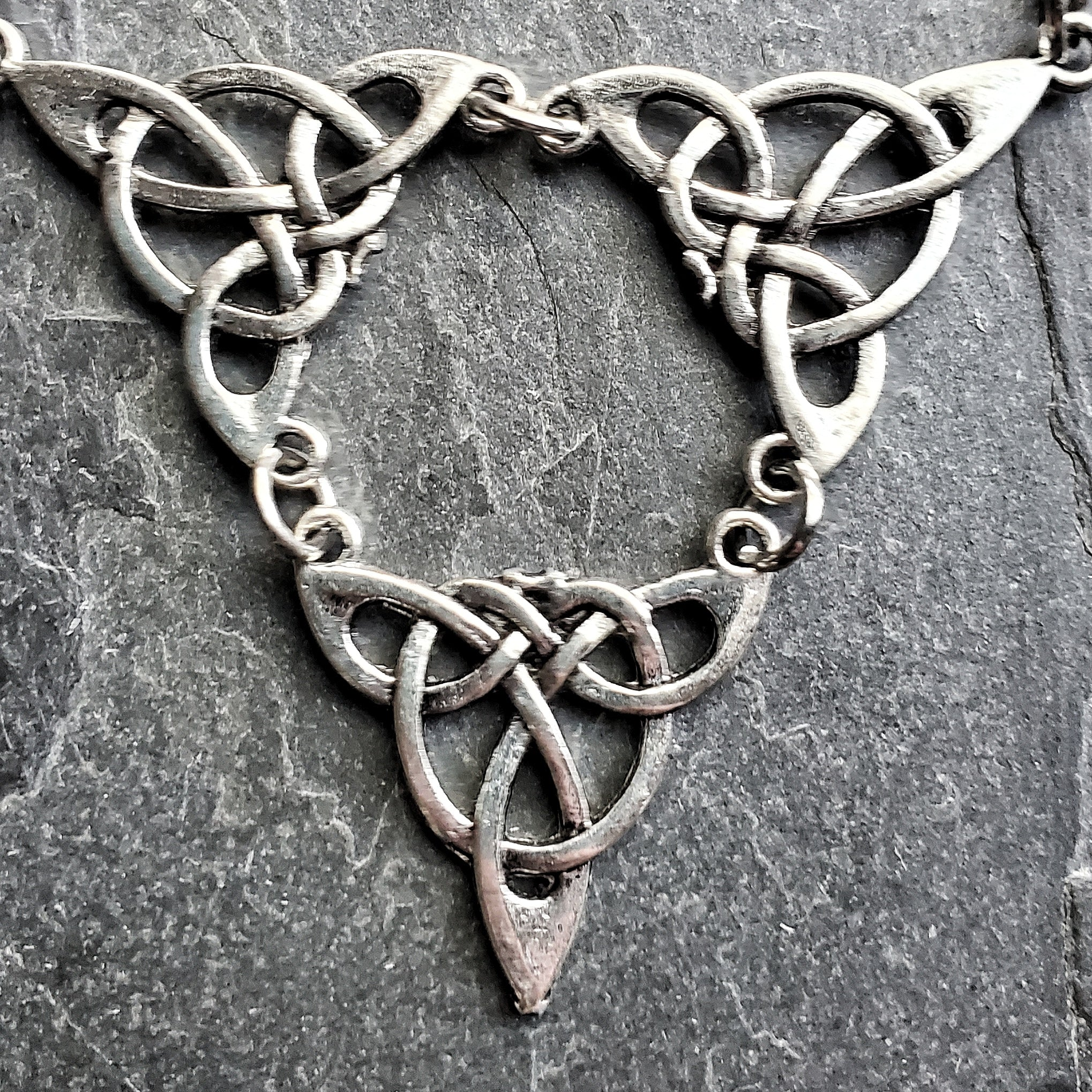 3rd Power Triquetra Necklace Witch Jewelry