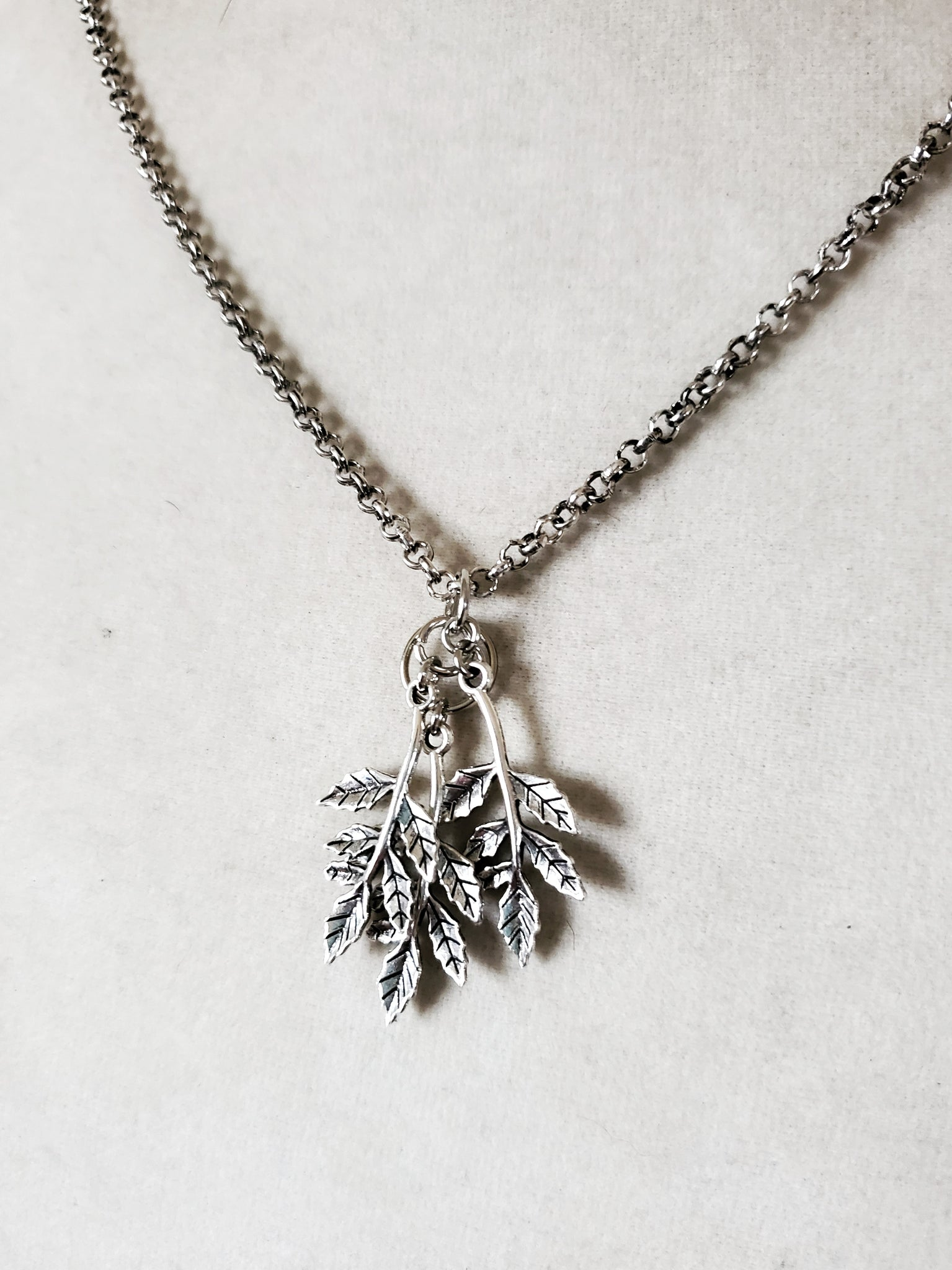Falling Leaves Necklace Fall Jewelry