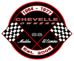 Chevelle Owners Group Logo Malibu Super Sport El Camino Established 2006