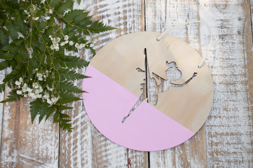 Ballerina Wall Plaque