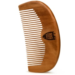 Pear Wood Fine Tooth Beard Comb