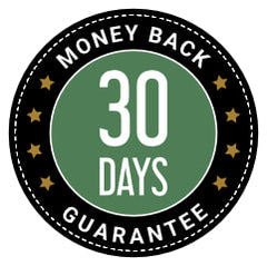 Our 30 satisfaction day money back guarantee