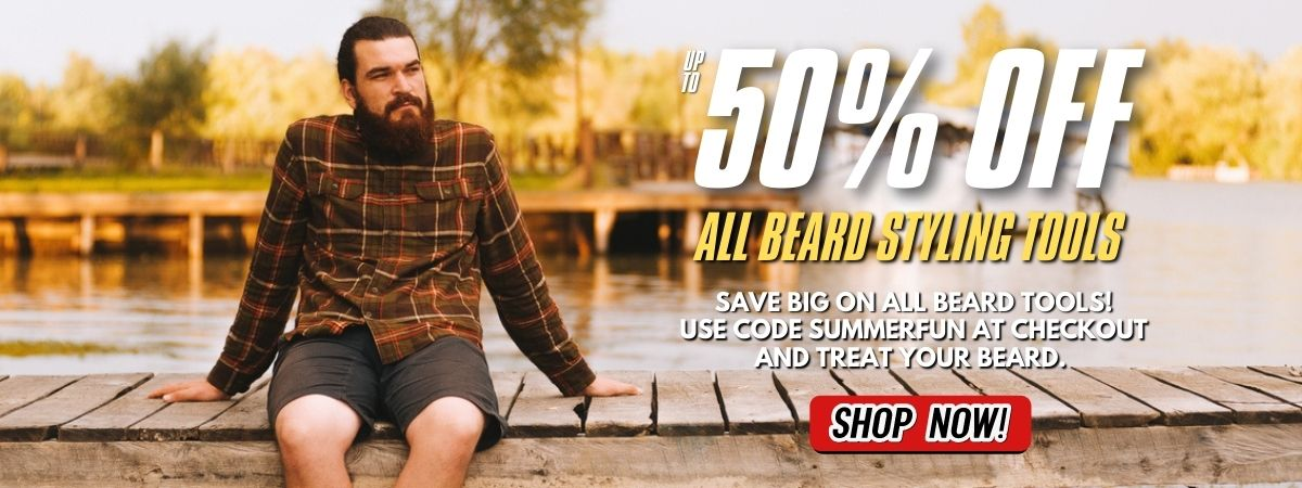 Save on all beard styling tools from Big City Beards