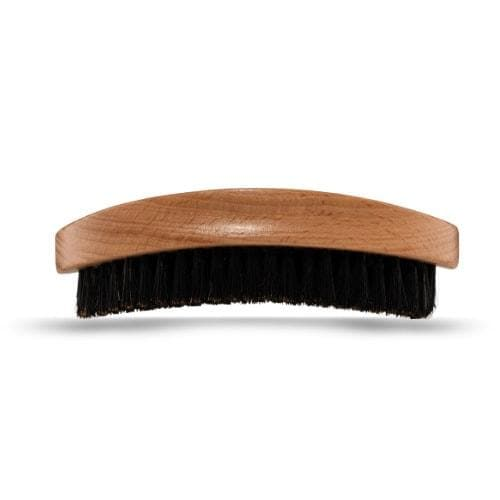 Genuine Boar's Mane Wooden Beard Brush