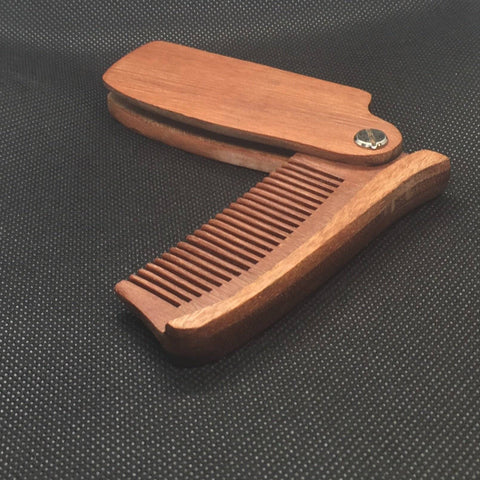 Image of Folding Wood Comb