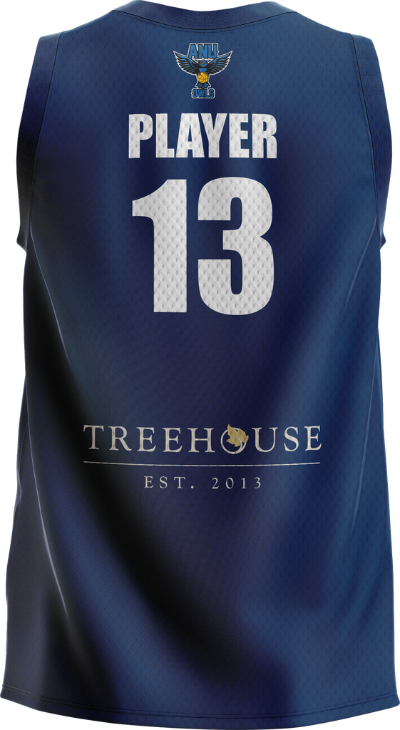 ANU Basketball Training Jersey