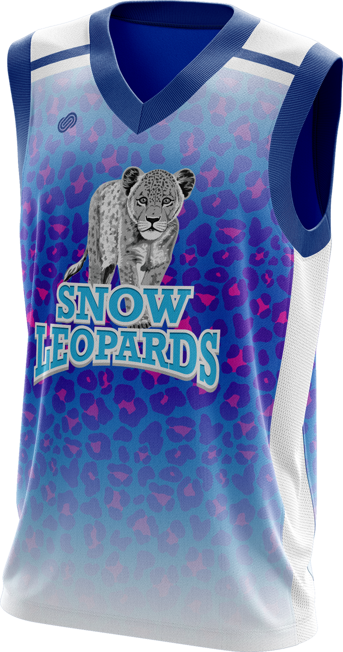 Snowleopards Basketball Kit