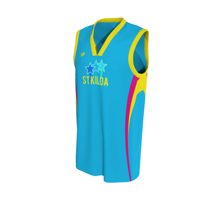 St Kilda Sparklers Basketball Uniform