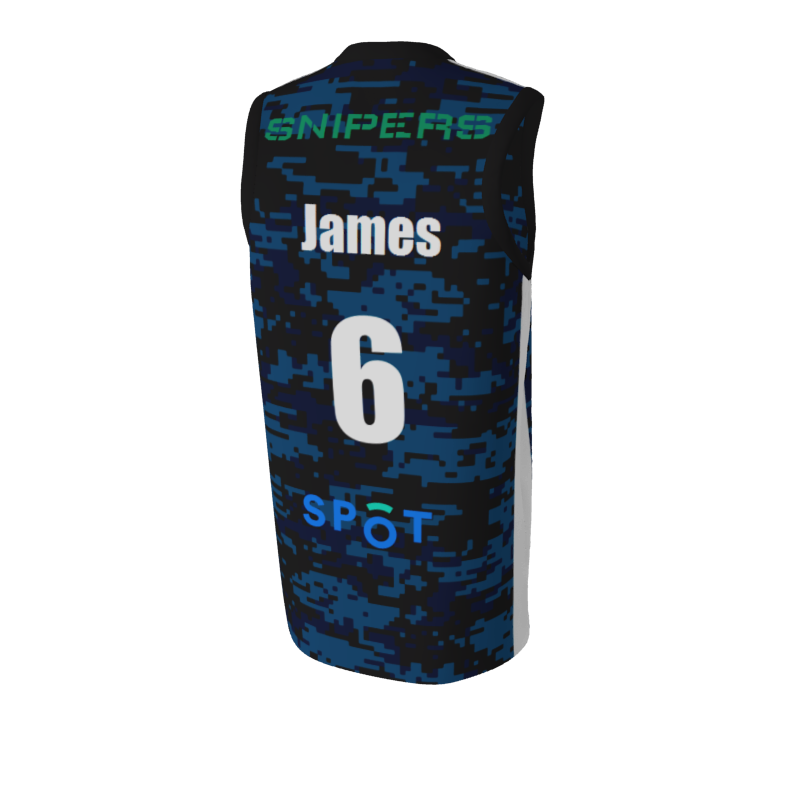 Snipers Basketball Jersey