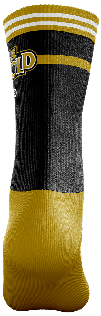 ABA Gold Crew Socks