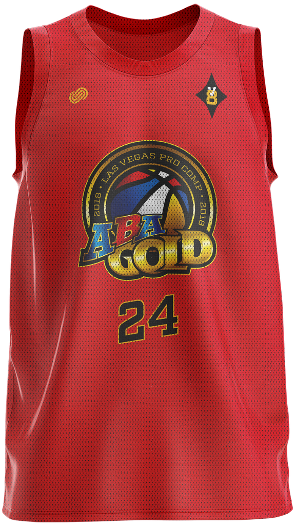 ABA Gold Reversible Training Singlet