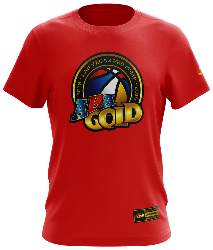 ABA Gold Mens Supporter T-Shirt
