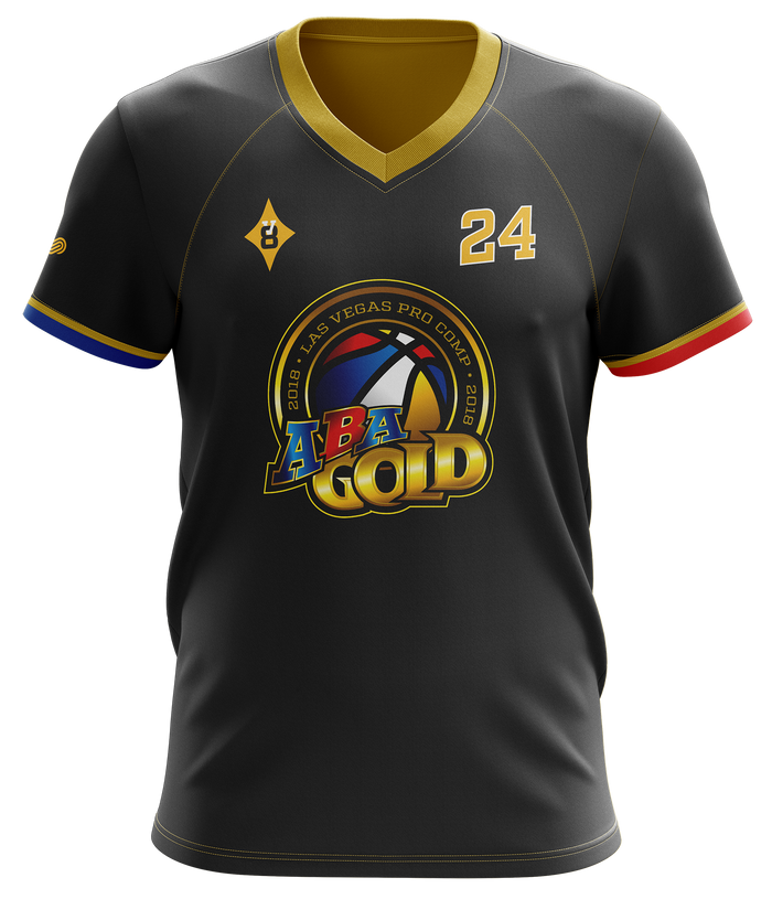ABA Gold Short Sleeve Shooting Shirt