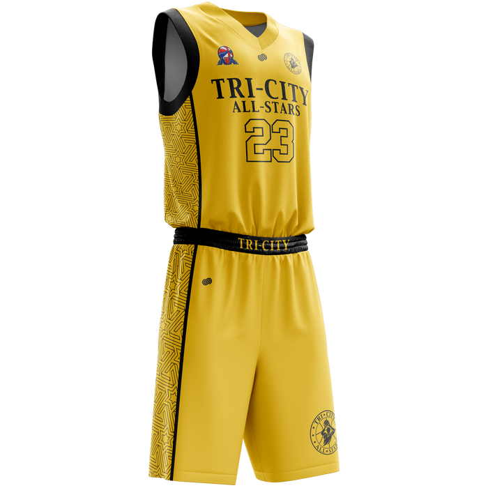 Tri City All-Stars Road Uniform Set