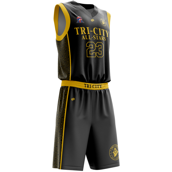 Tri City All-Stars Home Uniform Set