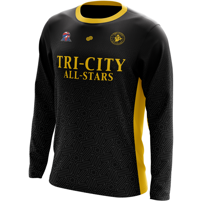 Tri City All-Stars Long Sleeve Shooting Shirt