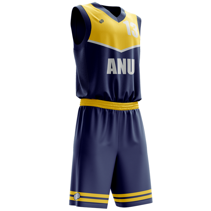 ANU Basketball Reversible Jersey & Shorts Set