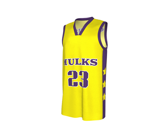 AP Hulks Reversible Basketball Jersey & Shorts Set