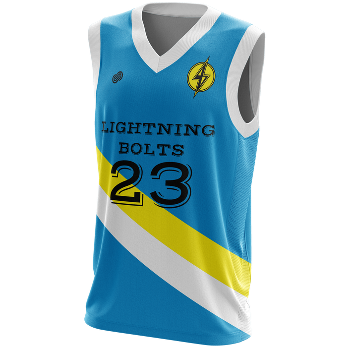 AP Lightening Bolts Reversible Jersey & Shorts Set