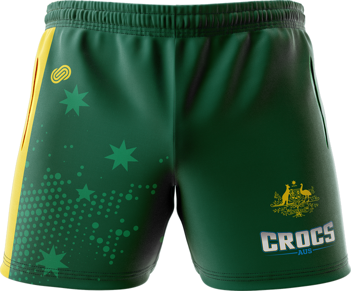Aus Crocs Mens Active Summer Shorts
