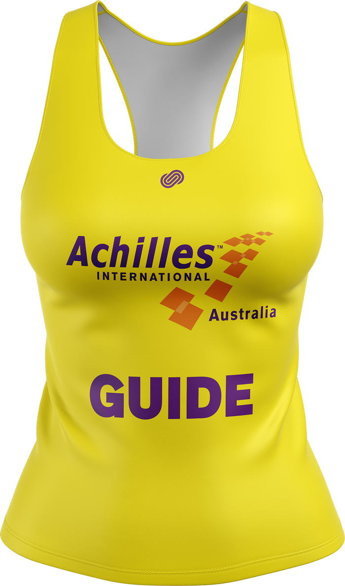 Achilles Brisbane Womens Guide Running Singlet