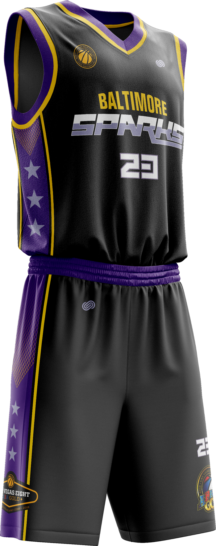 Baltimore Sparks Home Uniform